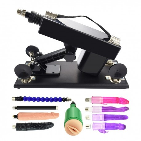 Dildo Machine Masturbation Sex Machine Gun with Dildo Accessories