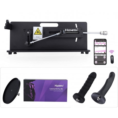 Hismith Table Top 2.0 Pro Sex Machine - APP / Remote / Wire Controlled with Bundle Attachments